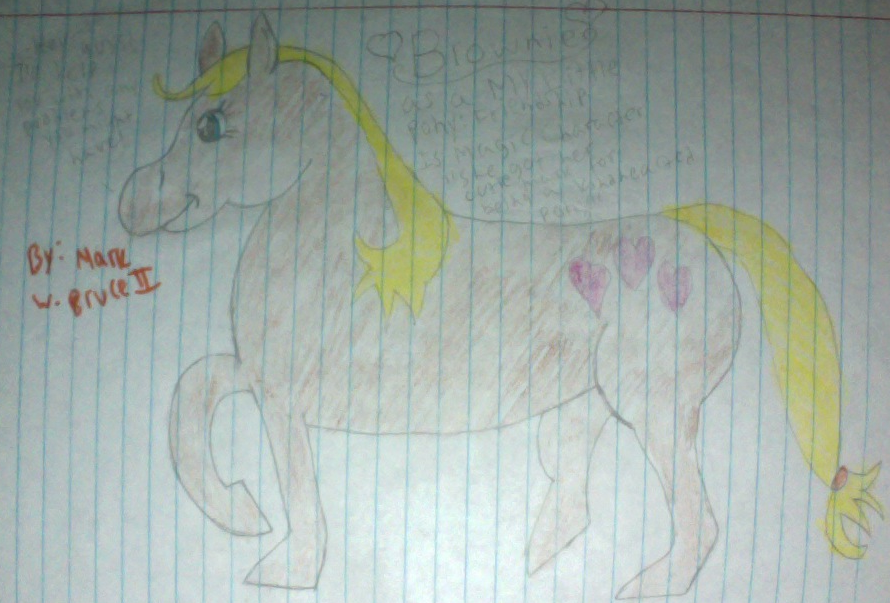 my_drawing_of_brownie_as_a_mlp_character