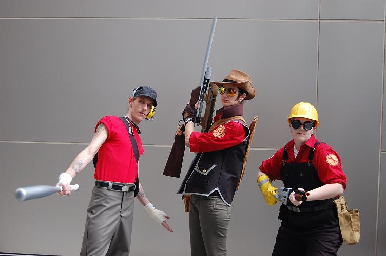 TF2 cosplay by Jackov