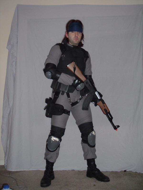 Sexy Solid Snake by Jackov