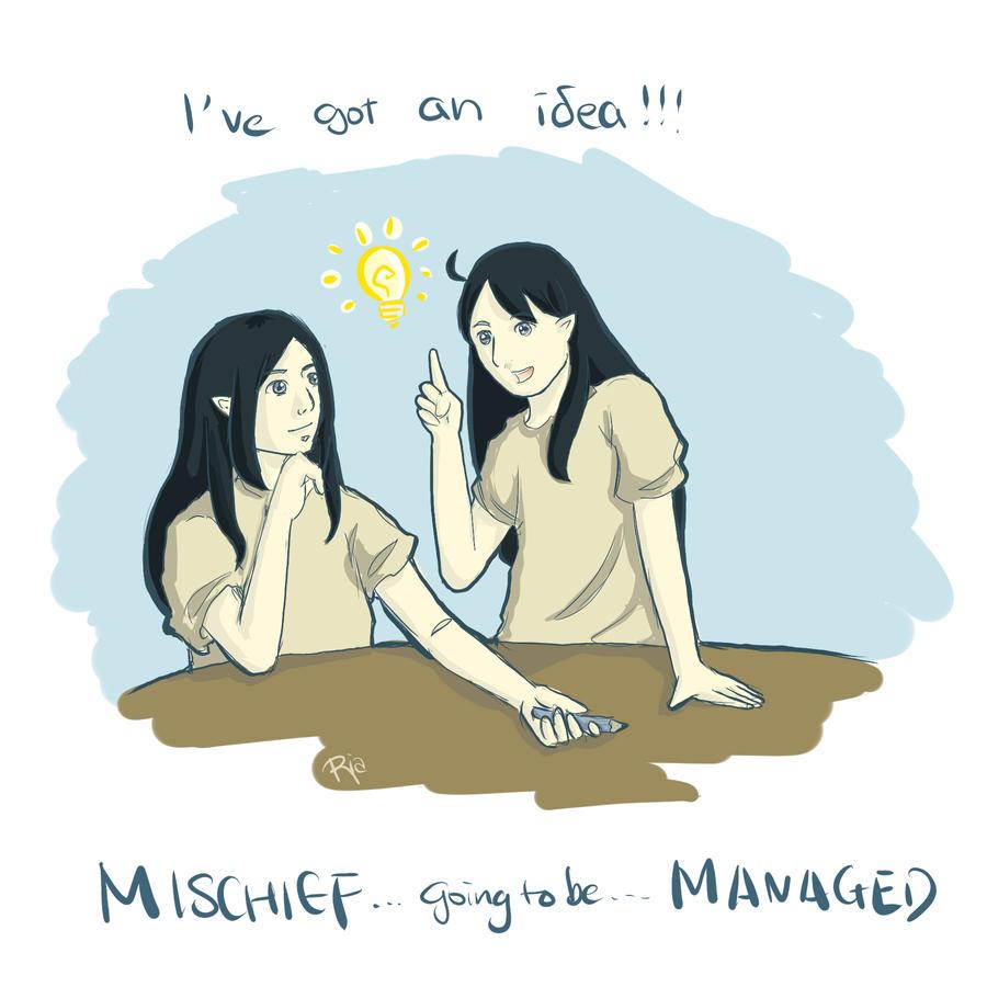 Mischief Managed by