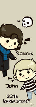 Johnlock Bookmark
