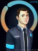 Connor DBH by Jedi-Cat