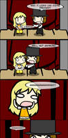 4koma: Magic Show Volunteer by ORT451