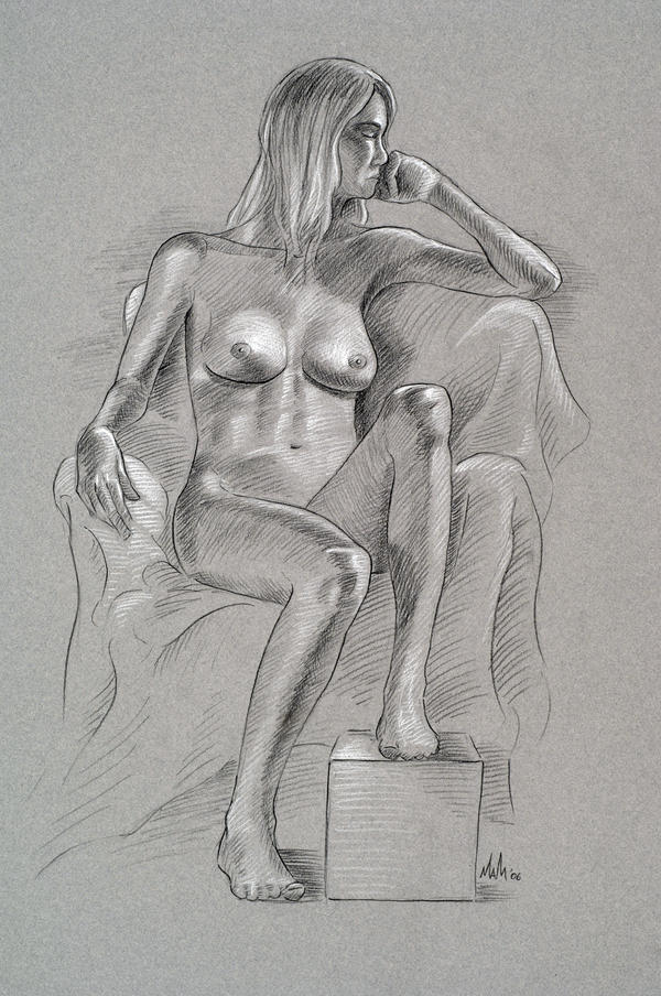 MAGMA'S Sketchbook (*nudity* life drawings)