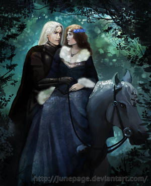 In canon they have never met, but    by ASOIAF--Pairings on