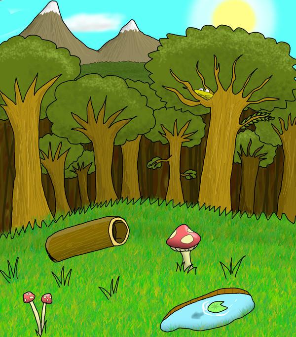 Forest Background by HAVT on DeviantArt
