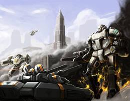 Battletech:  Lionheart's Counterattack by ThunderGodXarbala