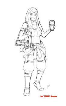 Jen Norman sketch