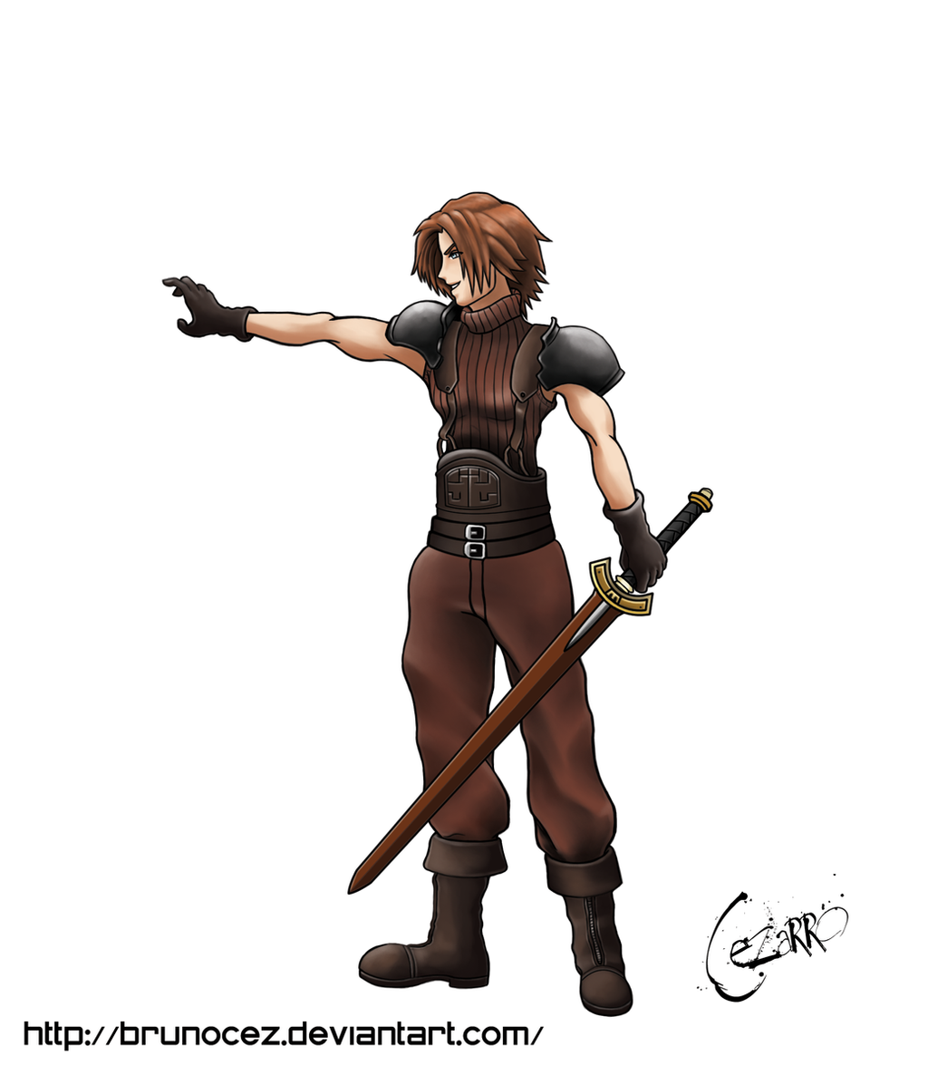 Final Fantasy 7 Anime Characters : Young genesis final fantasy by brunocez on deviantart