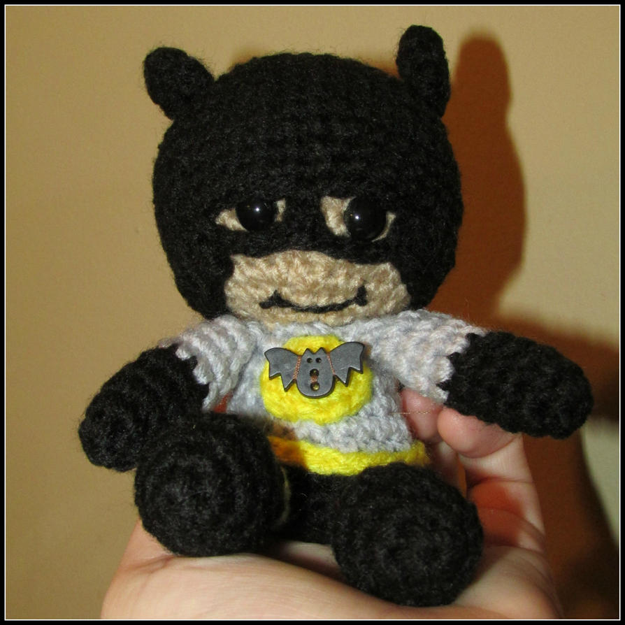 Batman Amigurumi by oywiththeplushies on DeviantArt