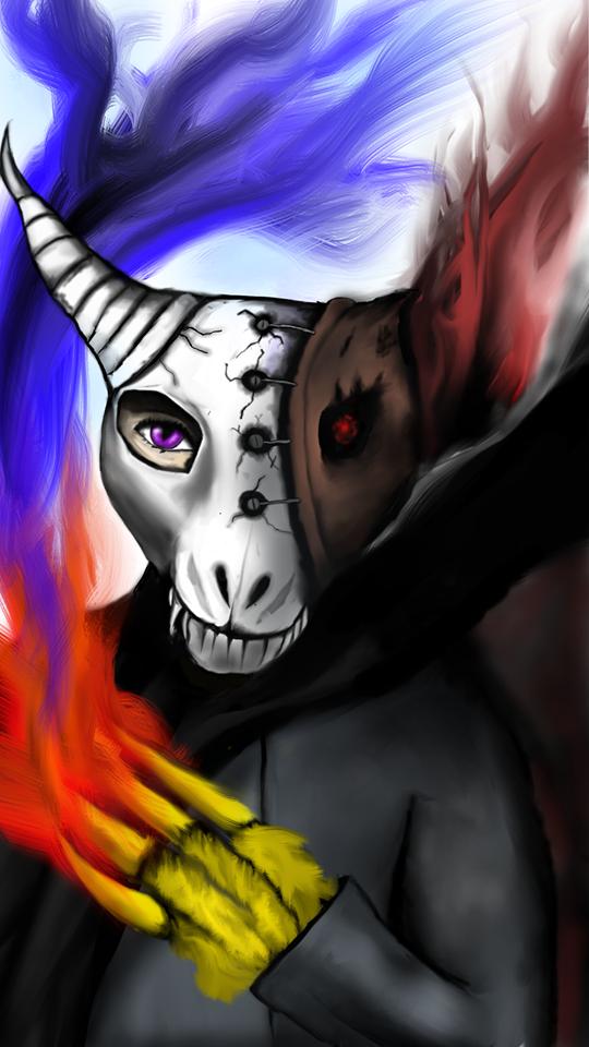The Dragon Mask by Facepallm