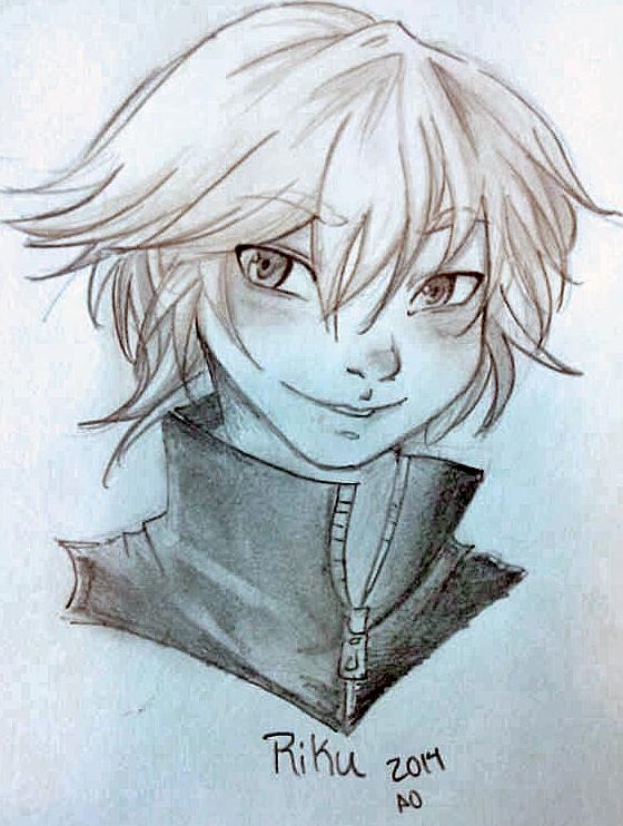 Riku sketch by Alexandria-Paige