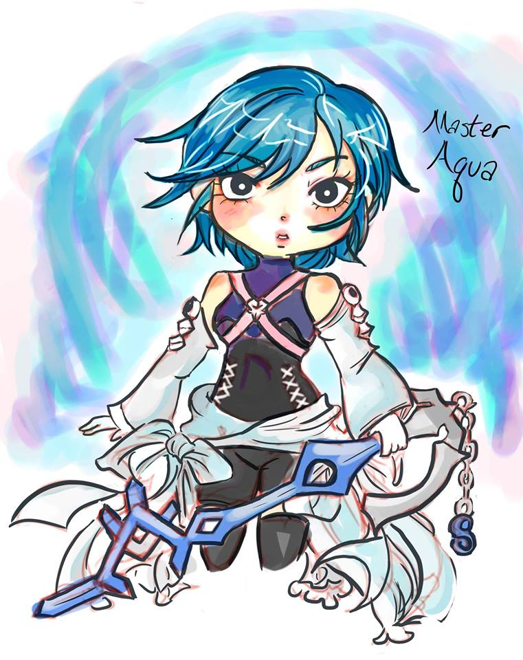 master Aqua doodle by Alexandria-Paige