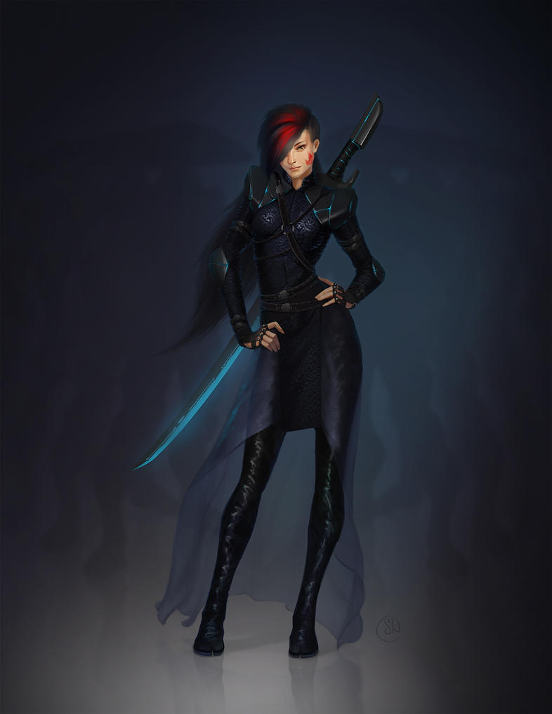 Karai (Shredder's daughter) by shpacia