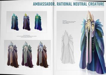 Ambassador. Rational neutral creature. by shpacia