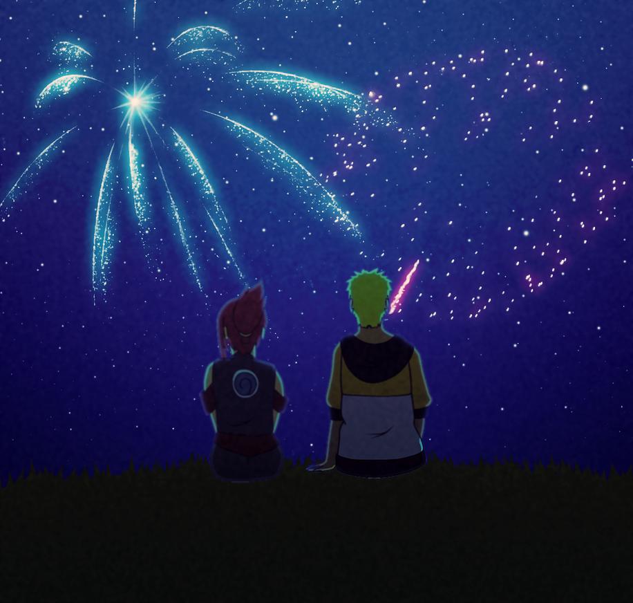 Fireworks - NN Version - by uzunae