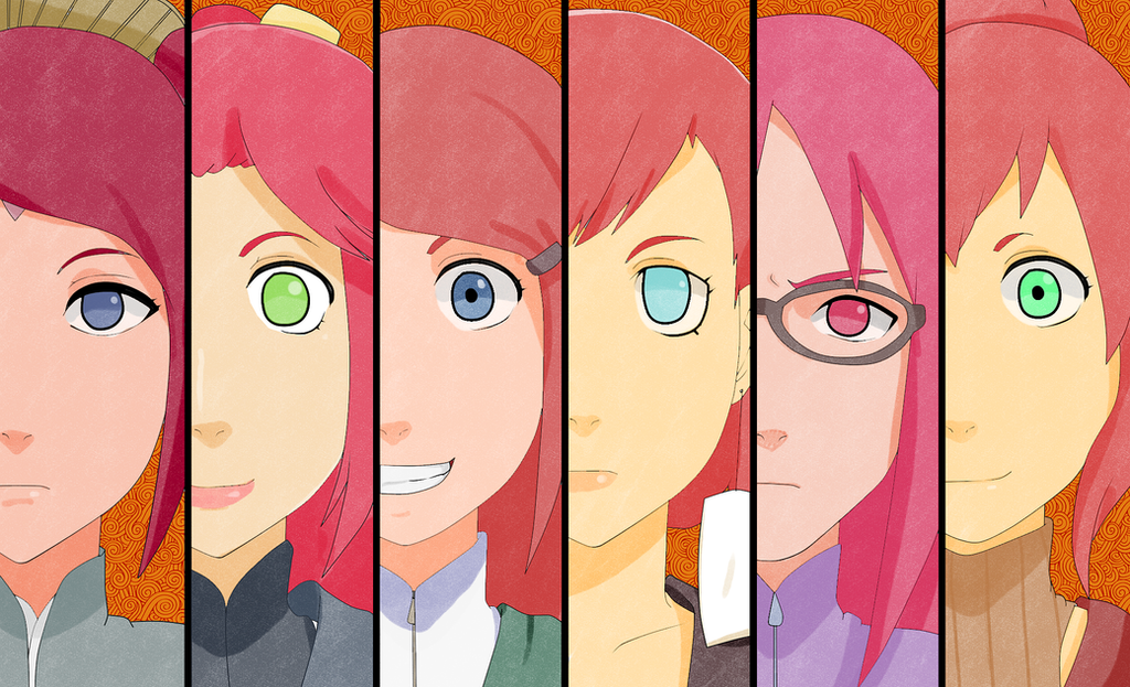 50 Shades of Red Hair by uzunae