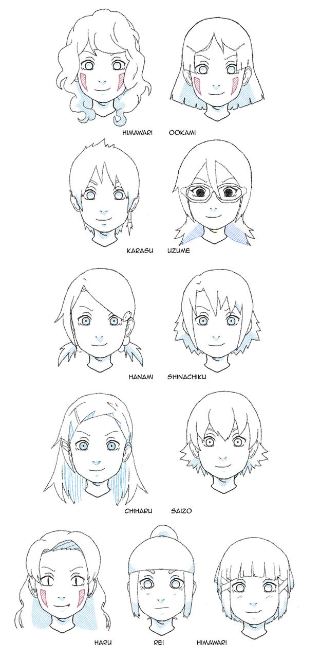 All the kids by uzunae