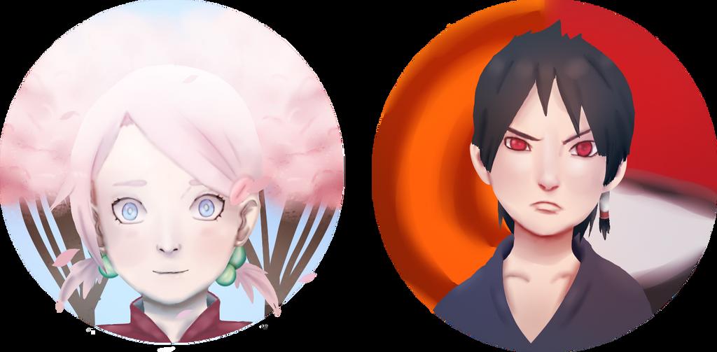Karasu And Hanami by uzunae