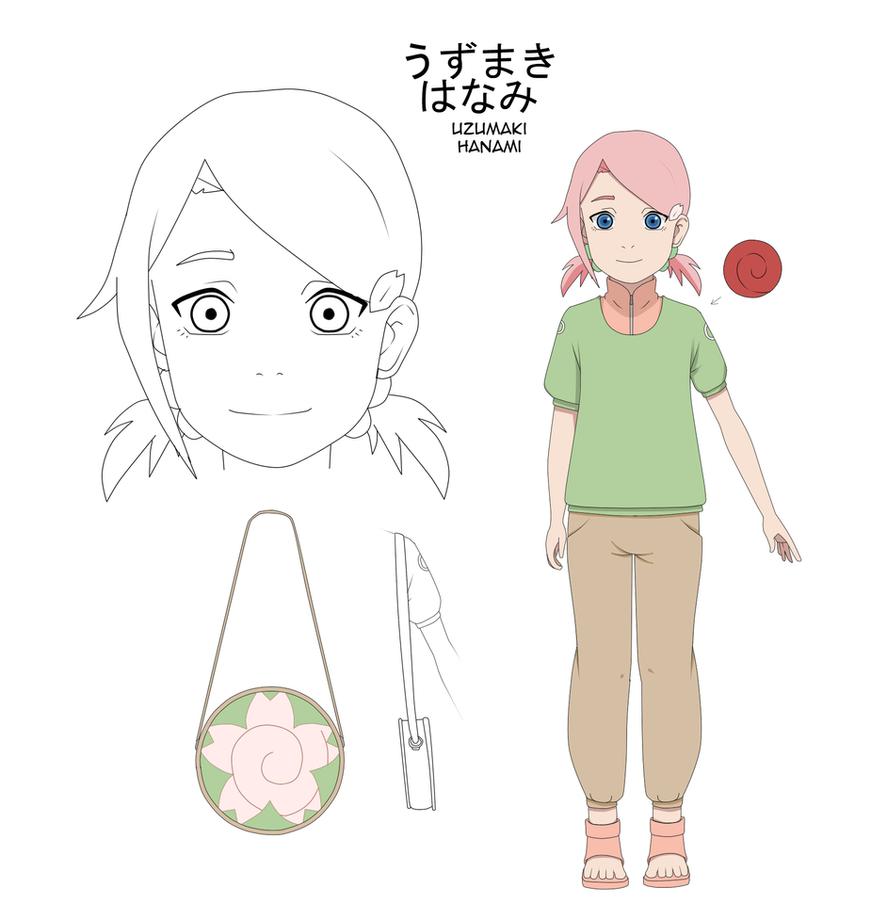 Uzumaki Hanami 7-8 years old by uzunae
