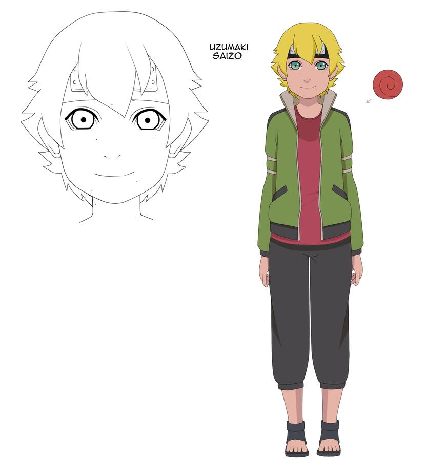 Uzumaki Saizo 12-13 years old by uzunae