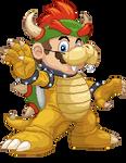 Mario Bowser by Real-Warner