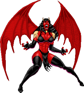 Lady Demon by Real-Warner