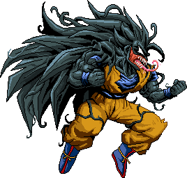Symbiote GokuSSJ3
