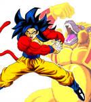 Goku level 4
