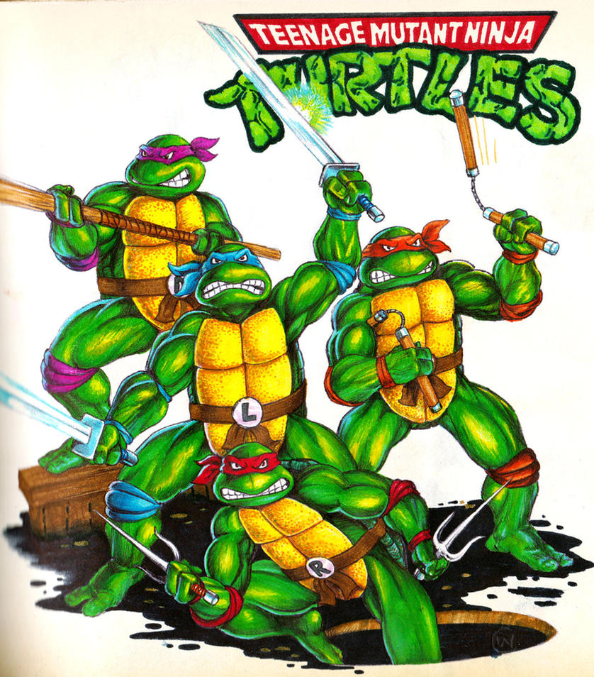 Ninja Turtles Wallpaper: TMNT By Real-Warner On DeviantArt