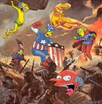 Invaders simpsons