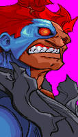 CyberAkuma portrait by Real-Warner