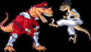 CeratoBison vs VelociRyuptor