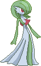 Gardevoir sprite by Real-Warner