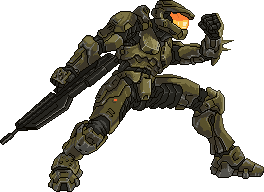 Master Chief by Real-Warner