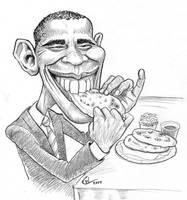 Obama in El Salvador by Real-Warner