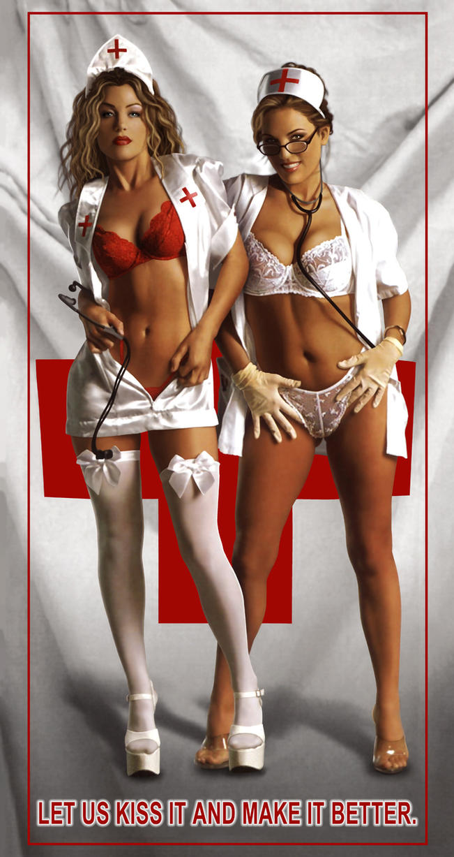 Sexy Nurses by Real-Warner: http://www.deviantart.com/browse/all/designs/interfaces/?offset=64&view_mode=2&order=5&q=boost%3Apopular+in%3Aliterature%2Ffanfiction%2Fgeneral+max_age%3A744h+gallery%3Anurses%2F25878714