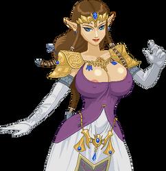 Zelda by Real-Warner