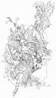 fairies sketch
