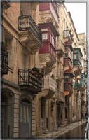 Malta balconies by mauromago