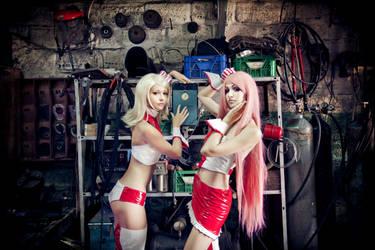 Vocaloid girls-mechanics