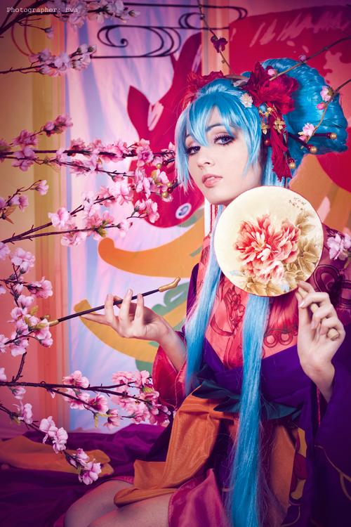 Hatsune Mike Ama yume rou by bellatrixaiden
