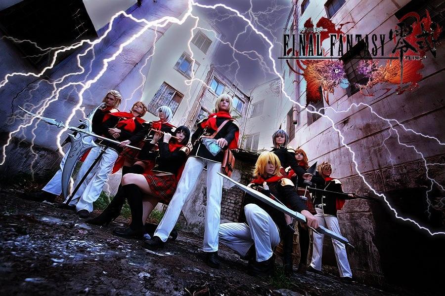 Final Fantasy Type 0 - Class Zero by bellatrixaiden