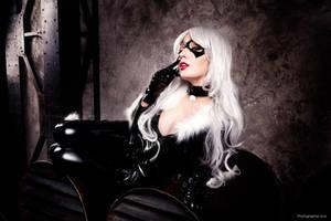 Felicia Hardy as Black Cat by bellatrixaiden