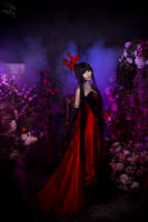Woman in the red by bellatrixaiden