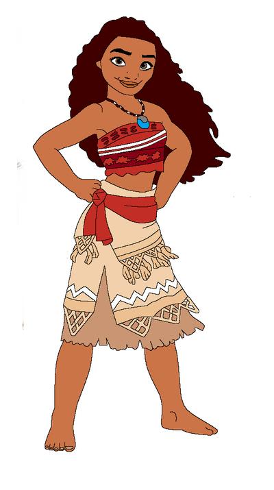 Moana hawaii disney princess in 2D by sollamagga on DeviantArt