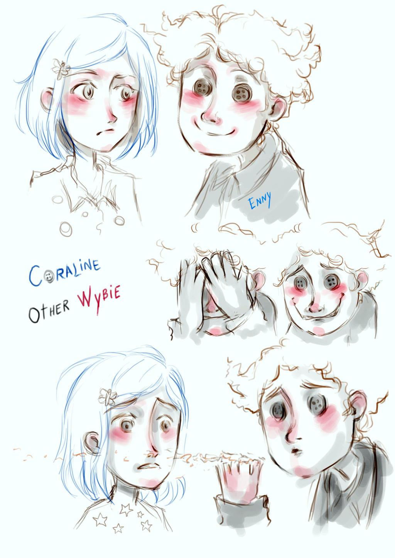 Coraline And Other Wybie By Ennylarok On Deviantart