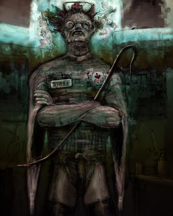 Asylum Keyholder by Suilenroc
