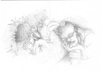 Old Sketchbook series 1 by Yainderidoo