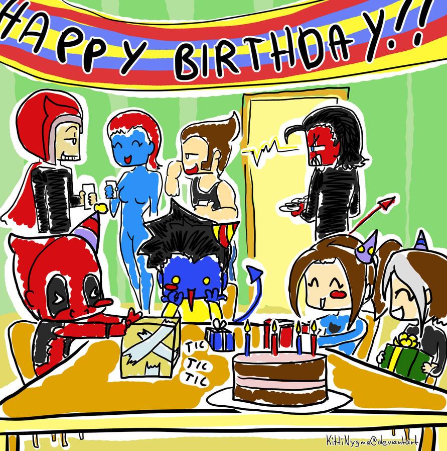 Happy Birthday By LauraFMeis On DeviantArt